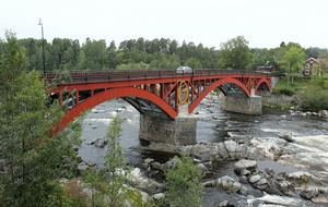Den nu 203-åriga Carl XIII:s bro efter den omfattande reparationen.
