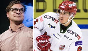 Emil Carnestad menar att Björn Hellkvist utvecklat honom som spelare. Foto: Bildbyrån.