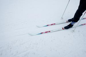 Nu går det att ta en tur på skidor i Högbo.