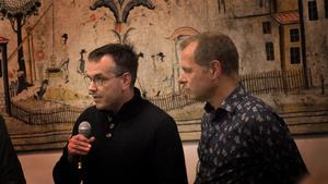 Marcus Kjellin från Hyresgästföreningen lovade att man den här gången inte skulle gå med på Krylbostäder ryktade hyreshöjning.