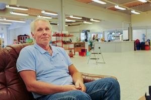 Jan Sjöström är enhetschef på Arbetsmarknadscentrum som nu ska avvecklas.