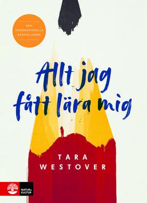 """""""Allt jag har fått lära mig"""" av Tara Westover beskriver uppväxten i en familj som är mormoner och survivalists – de lever helt avskärmade från samhället."""