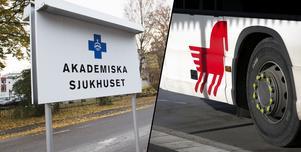 """Fotomontage: Mikael Hellsten/TT. Dalatrafik tar över sjuktransporter – ambulanspersonal försvinner: """"Både en försämring och en förstärkning"""""""