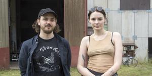 Johan Östman, programansvarig, och Sara Fors, ordförande, för Norbergfestival.
