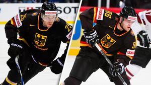 Marcel Müller och Daniel Pietta kan hamna i Leksand. Foto: Joel Marklund/Joel Skoglund (Bildbyrån).