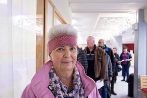 Ingrid Huczkowsky har vaccinerat sig på Östersunds sjukhus.