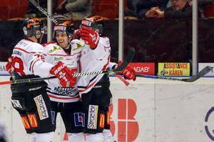 Jeremy Williams gjorde sin första match för Örebro – och sin första poäng när han spelade fram Tom Wandell till 2–1. Bild: Kenta Jönsson/Bildbyrån