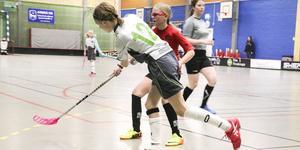Tjejlagen från Bollnäs och Ljusdal spelade en tuff match mot varandra.