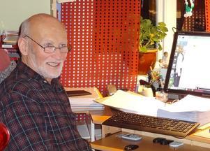 Åke Stierna, Gåxsjö, tilldelas hembygdsstipendiet för  2020.