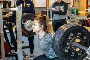 Hanna Sköld är Leksands enda bidrag i SDHL-truppen under landslagslägret i Falun.