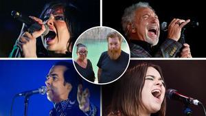 Björk, Tom Jones, First Aid Kit och Nick Cave kommer alla till Dalhalla i sommar. Foto: TT/Johanni Sandén