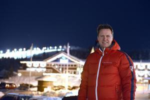 Mats Årjes i Sälen, men det är från Stockholm han styrt Skistar de senaste åren.