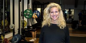 Charlotte Carlén, delägare och instruktör på Norrtälje träningscenter.