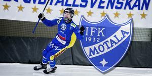 Viktor Hulthammar var lagkapten i Nässjö den gångna säsongen. Nu lämnar han för Motala.