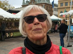 Berit Norberg, 76 år, pensionär, Skönsberg