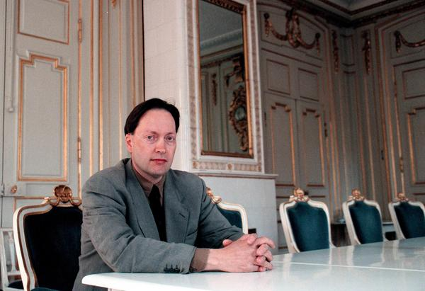 Horace Engdahl som nytillträd ständig sekreterare i Svenska Akademien 1999.Foto: Jan Collsiöö/SCANPIX