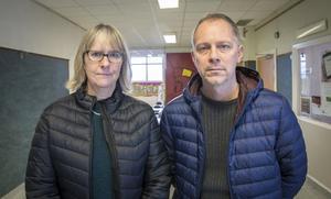Biträdande rektor Lisbeth Frejd och rektor Mikael Isaksson har tillsammans med skolans personal och elever vänt den negativa utvecklingen.