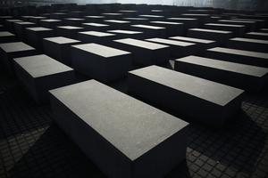 Förintelsemonumentet i Berlin. Bild: Markus Schreiber/TT