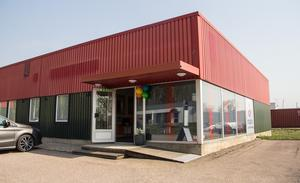 Inspirationslokalen ligger i den gamla Comfortbutiken på Kristiansbergsvägen 8.
