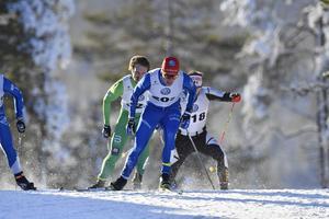 Moras Karl-Johan Dyvik, sexa i sprintpremiären.