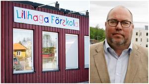 Lillhaga förskola ska rivas och ersättas av en ny, med åtta avdelningar på två våningar. Nykvarns kommun är under press när det gäller lokalförsörjningen, konstaterar Bengt Andersson.