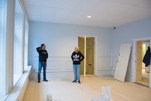 Nästa vecka  flyttar tre bolag från Gomorron Östersund in i hela övervåningen på Storgatan  nyrenoverade lokaler.