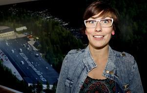 Ina Beckman är IF Metalls klubbordforande på Elkapsling, och hon gladdes åt besöket.
