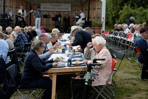Många kom för att delta i årets gala.