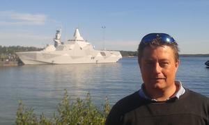Mikael Nyman har skrivit den militärpolitiska thrillern