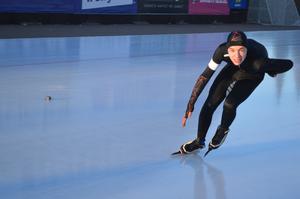 Sammi van Vliet, DAS, var nära att göra personrekord. Foto: Sven Olsson