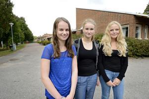 Ellinor Gustafsson, Ebba Frisen och Anna Norin tror att de som mobbar gör det för att inte själva bli utsatta.