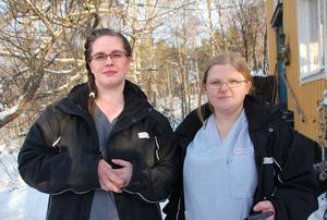 Från att ha varit över tjugo i arbetsgruppen jobbar nu Camilla Olsson och Maja Fogel i ett team med runt tio.