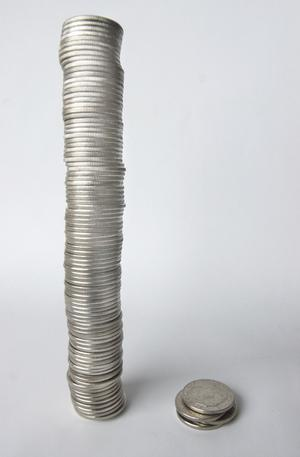 Pengastapeln växer. Välfärden blir allt dyrare de närmaste årtionderna enligt grupp ledande kommunalpolitiker. FOTO: SCANPIX