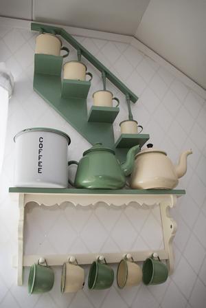 Kockums exporterade även en hel del utomlands. Burken med texten Coffee är avsedd att säljas till England.