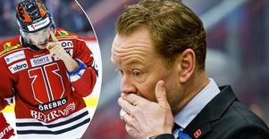 Två riktigt stelbenta perioder mot Djurgården fick många att undra vad som hänt med Örebro Hockey. Men tränaren Niklas Eriksson är inte orolig. Bild: Johan Bernström/Bildbyrån