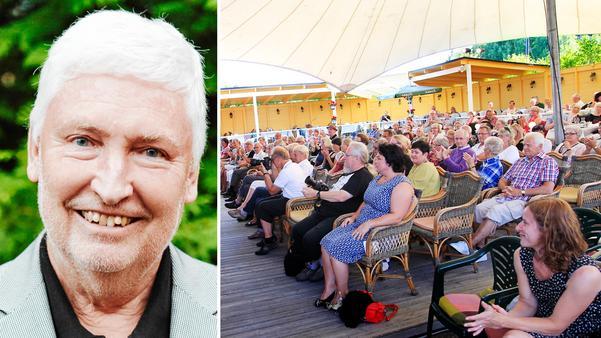 Martin Johnsson har sålt Jazzens museum till Wilson fastigheter. Bild: Martin Bohm/Alexander Carlsson
