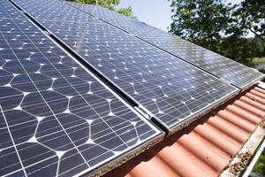 Allt fler solcellspaneler installeras. Då behövs tekniker. Foto: Fredrik Sandberg/TT