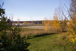 Platsen i Uggelbo som berördes av detaljplanen för nya äldreboendet – ett beslut som nu upphävs av mark- och miljödomstolen.
