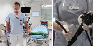 Oskar Vandell skulle önska att färre uteblev när de kallas till undersökning på endoskopimottagningen vid Gävle sjukhus.