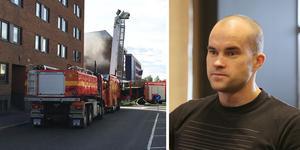 Tomas Järvistö, ägare av Parken Fitness i Ludvika och Fagersta, hoppas kunna öppna upp delar av gymmet så snart som möjligt.