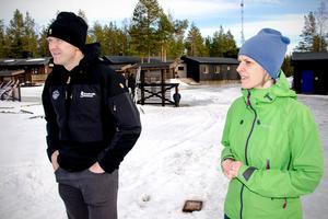 Tjänstemännen på Sundsvalls kommun tror på satsningen på terrängcykling på Södra berget. Friluftsstrategen Anders Erlandsson och projektledaren Lotta Johansson berättar att dettta har blivit allt populärare i Sverige.