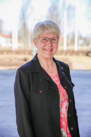 Anita Nordström (S), ordförande omsorgsnämnden i Borlänge. Foto: Pressbild