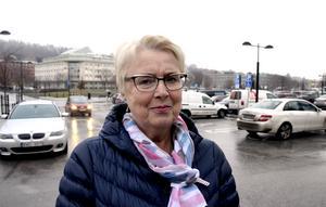 Lena Lindqvist, 67, företagare, Sundsvall: