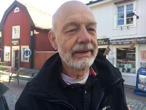 Kent Rydén, 75, Österlisa: – Jag brukar gå en liten runda, men det beror på vilken restaurang det är. Jag går tillbaka om det är fräscht och god mat. Om fönstren är skitiga går jag inte ens in.