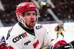 Magnus Häggström och hans Modo-kompisar bärgade hem tre viktiga poäng i Karlskrona. Bild: Anders L Eriksson/Bildbyrån