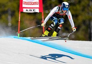 Lisa Hörnblad blev enda svenska att ta sig i mål i Val d'Isere.