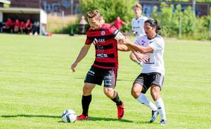 KFF:s lagkapten Simon Åkerström har mångårig rutin från spel i både trean och tvåan. Foto: Rasmus Ellvin/arkiv