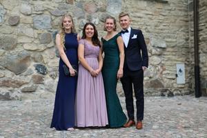 Nilla Thernell, Ida Johansson, Hanna Säfström och Linus Dudal.