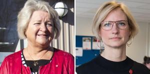 Åsa Eriksson (S) och Aneth Arvidsson (S).