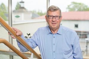 Mats Larson, vd för Norrbärke Sparbank.